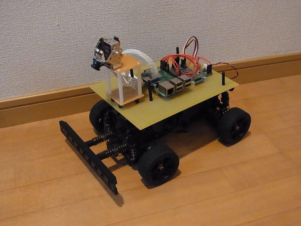 自動運転ロボカーを作ってレースをしよう