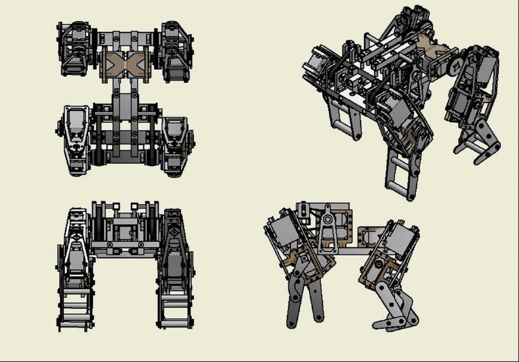 子パンダ型ロボット
