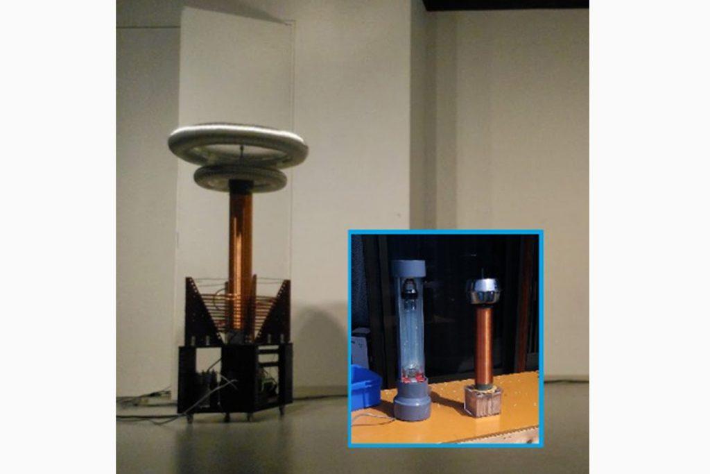 半導体駆動式テスラコイル