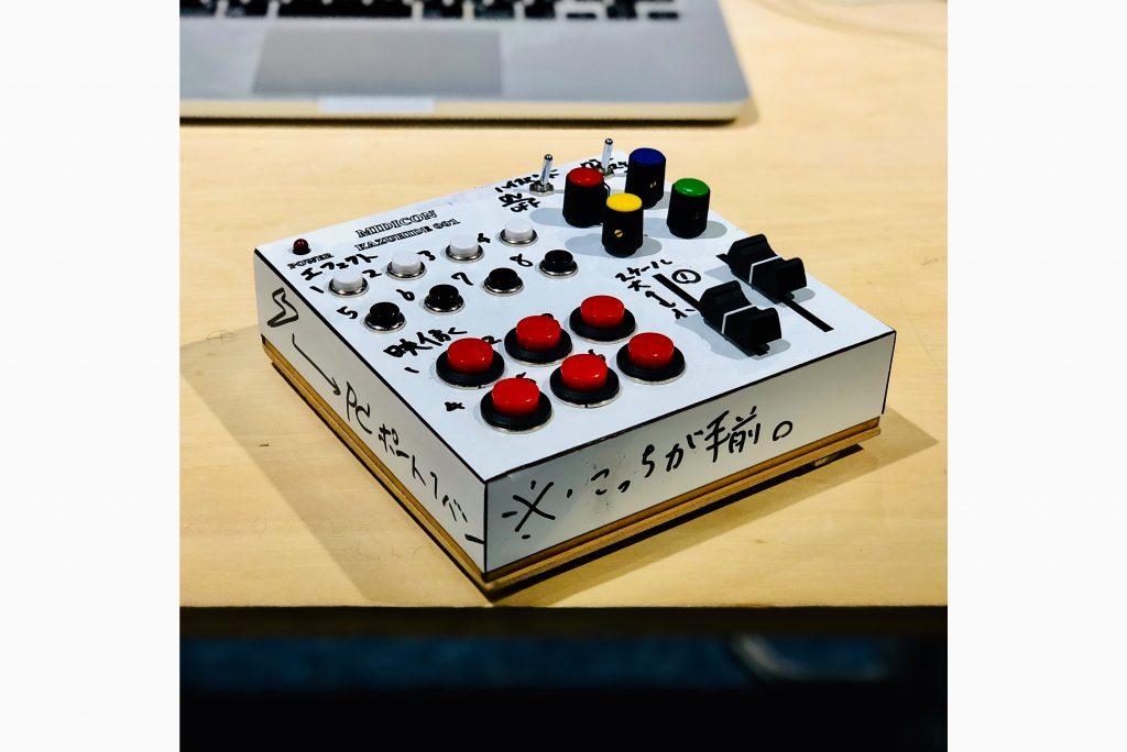 GIF Jockey System、自作MIDIコン
