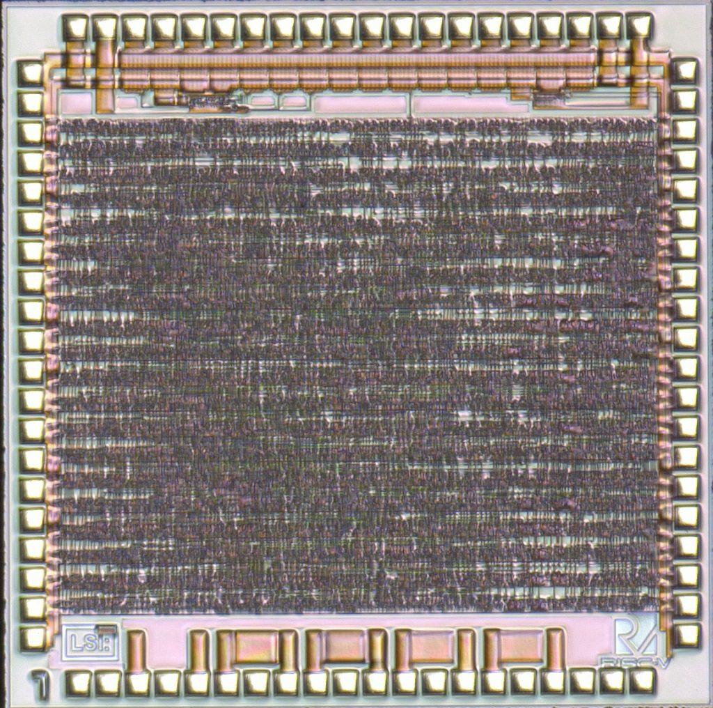 自作RISC-VチップでLチカをやってみた