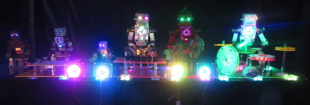 ロボットバンド・イン・ザ・ダークルーム