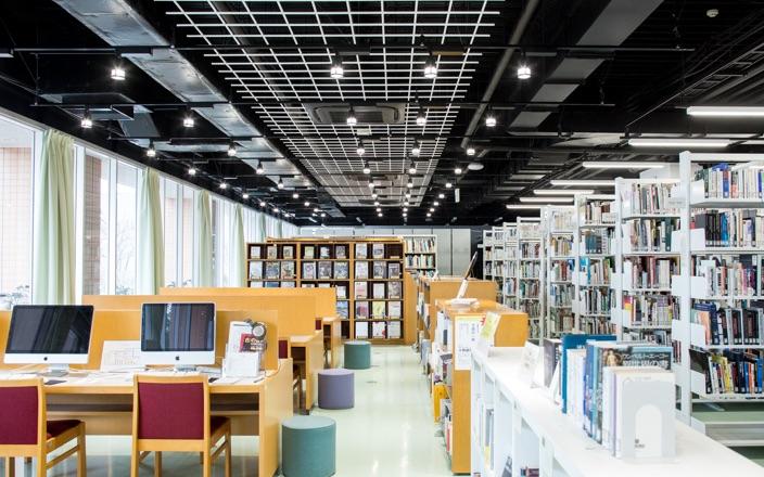 図書館 写真