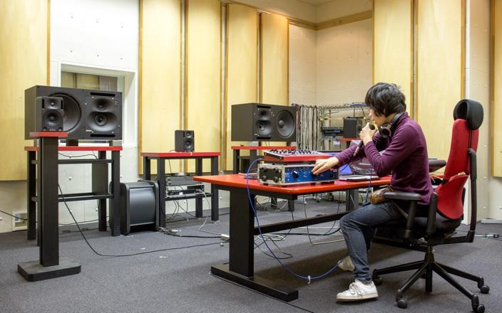 サウンドスタジオ 写真