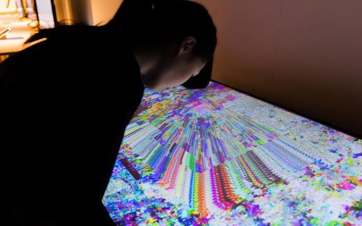 HDII 高精細映像技術を用いた表現研究プロジェクト 写真