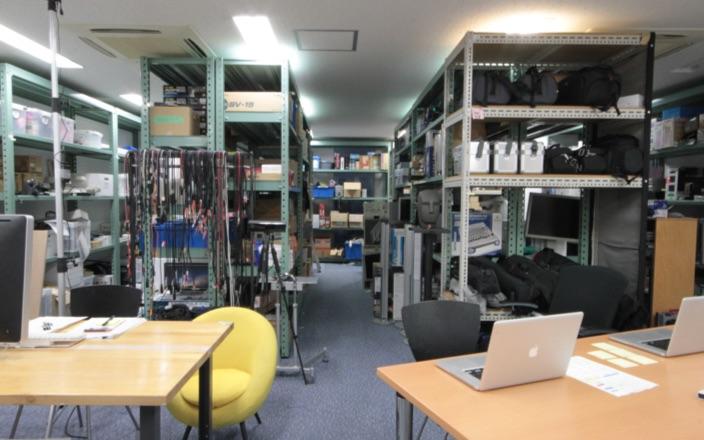 Equipment rental room Photo