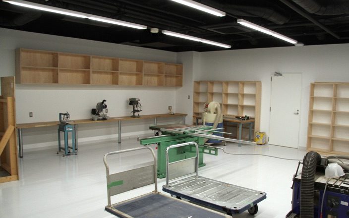 Woodworking room Photo